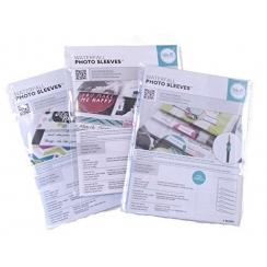 Pochettes en cascade 5 x 5 cm par We R Memory Keepers. Scrapbooking et loisirs créatifs. Livraison rapide et cadeau dans chaq...
