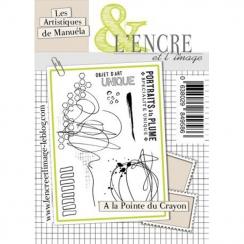 Tampon clear À LA POINTE DU CRAYON par L'Encre et l'Image. Scrapbooking et loisirs créatifs. Livraison rapide et cadeau dans ...