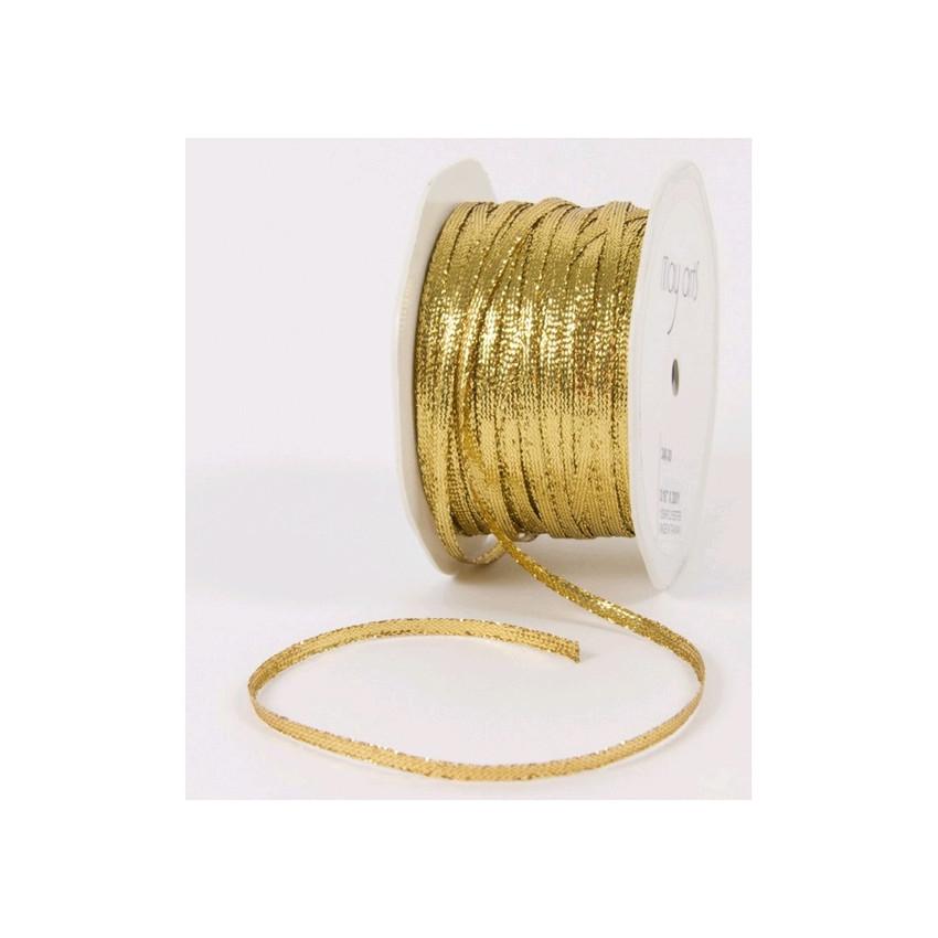 Ruban Solid GOLD par May Arts. Scrapbooking et loisirs créatifs. Livraison rapide et cadeau dans chaque commande.