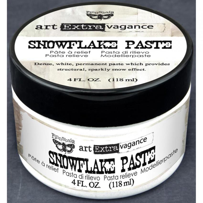 Parfait pour créer : Pâte de texture SNOWFLAKE PAST FINNABAIR par Prima Marketing. Livraison rapide et cadeau dans chaque com...