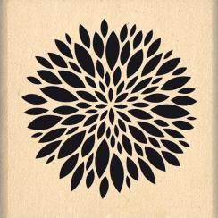 Tampon bois JOLIE PETITE FLEUR par Florilèges Design. Scrapbooking et loisirs créatifs. Livraison rapide et cadeau dans chaqu...