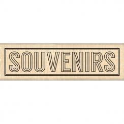 Tampon bois BLOC SOUVENIRS