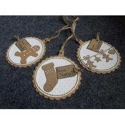 Outils de découpe NOËL GOURMAND par Florilèges Design. Scrapbooking et loisirs créatifs. Livraison rapide et cadeau dans chaq...