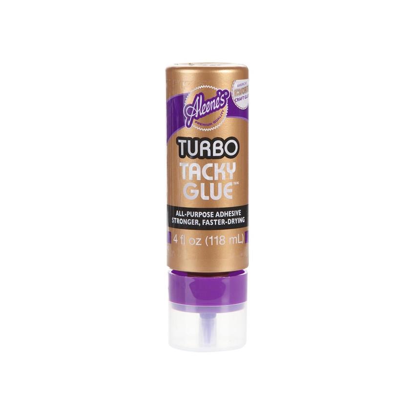 Colle Tacky ALWAYS READY TURBO 118 ml  par Aleene's. Scrapbooking et loisirs créatifs. Livraison rapide et cadeau dans chaque...