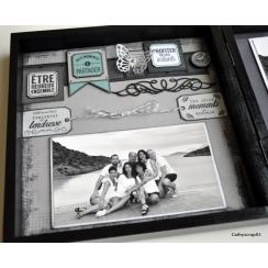 Tampon bois SOUVENIRS CÂLINS par Florilèges Design. Scrapbooking et loisirs créatifs. Livraison rapide et cadeau dans chaque ...