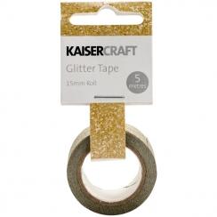 GOLD      -GLITTER TAPE 5 METER