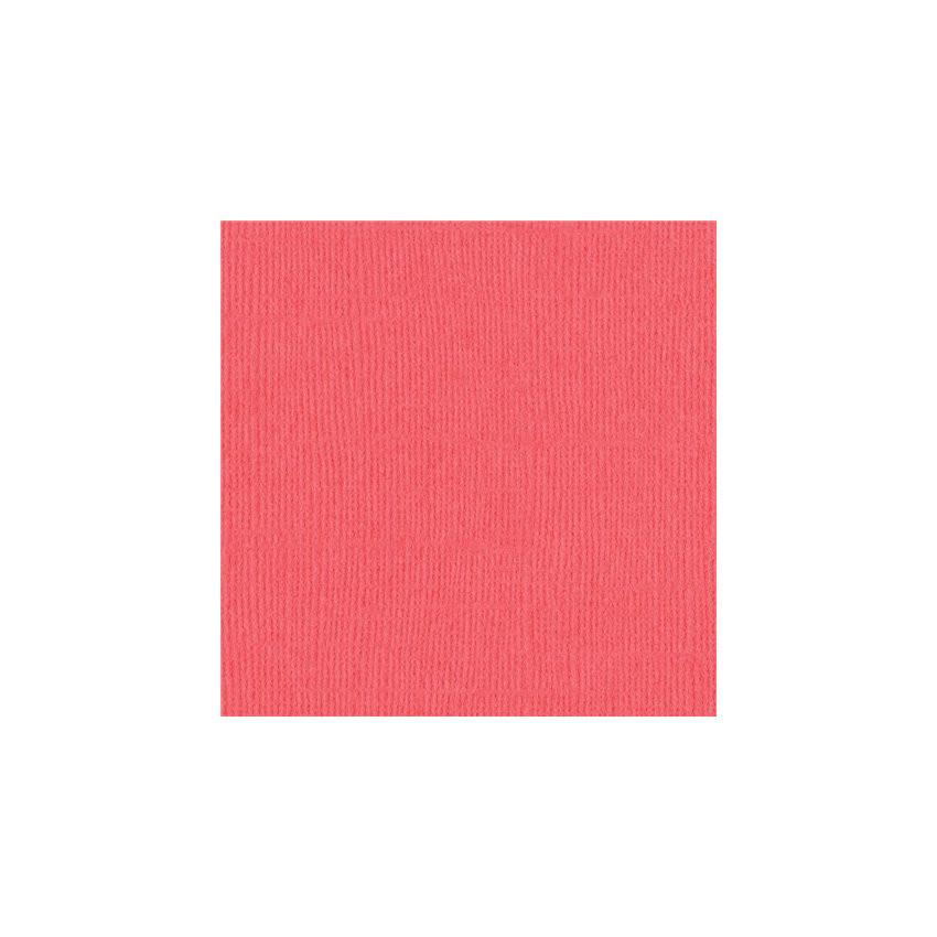 Papier uni 30,5x30,5 Roselle