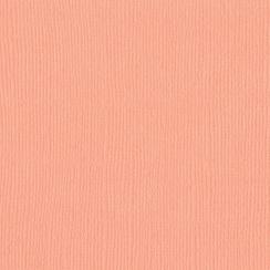 Papier uni 30,5x30,5 Coral Cream