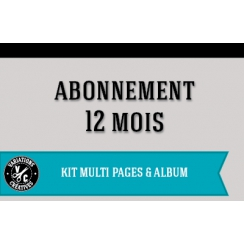 Abonnement KITS MULTI PAGES & ALBUM 1 an