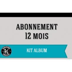 Abonnement KIT ALBUM 1 an