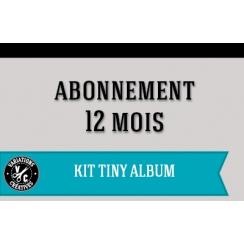 Abonnement KIT TINY ALBUM 1 an
