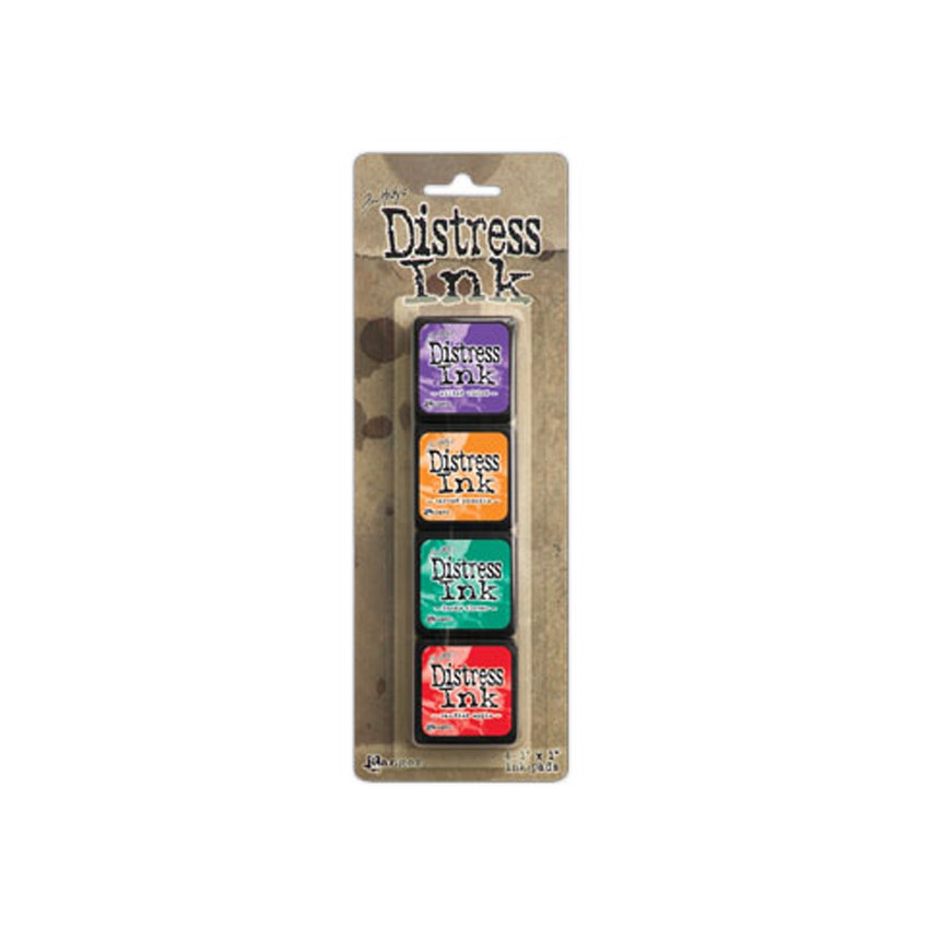 Encres Mini Distress KIT n°15 par Ranger. Scrapbooking et loisirs créatifs. Livraison rapide et cadeau dans chaque commande.