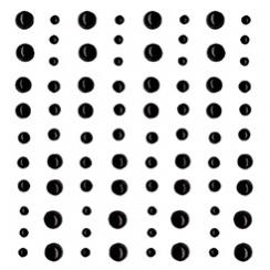 Demi perles nacrées noires par Artemio. Scrapbooking et loisirs créatifs. Livraison rapide et cadeau dans chaque commande.