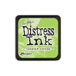 Encre Mini Distress TWISTED CITRON par Ranger. Scrapbooking et loisirs créatifs. Livraison rapide et cadeau dans chaque comma...