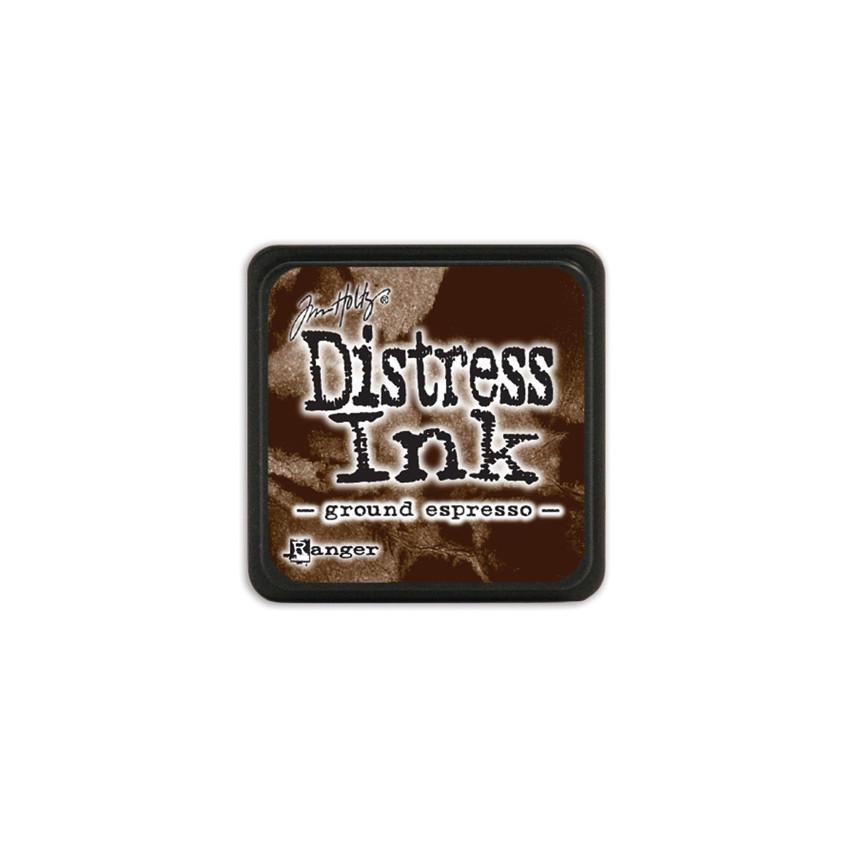 Encre Mini Distress GROUND ESPRESSO par Ranger. Scrapbooking et loisirs créatifs. Livraison rapide et cadeau dans chaque comm...