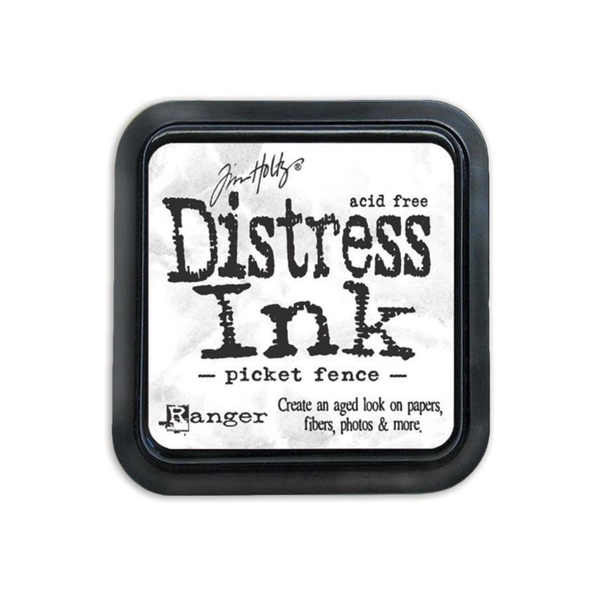 Encre Distress PICKET FENCE par Ranger. Scrapbooking et loisirs créatifs. Livraison rapide et cadeau dans chaque commande.