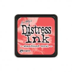 Encre Mini Distress ABANDONED CORAL par Ranger. Scrapbooking et loisirs créatifs. Livraison rapide et cadeau dans chaque comm...