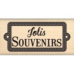 Tampon bois JOLIS SOUVENIRS