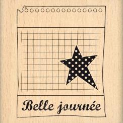 Tampon bois BELLE JOURNÉE