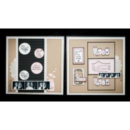 Tampon bois CONCENTRÉ D'AMOUR par Florilèges Design. Scrapbooking et loisirs créatifs. Livraison rapide et cadeau dans chaque...