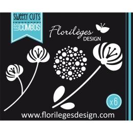 Outils de découpe NATURE GRAPHIQUE par Florilèges Design. Scrapbooking et loisirs créatifs. Livraison rapide et cadeau dans c...