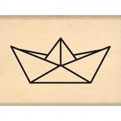 Tampon bois PETIT BATEAU par Florilèges Design. Scrapbooking et loisirs créatifs. Livraison rapide et cadeau dans chaque comm...