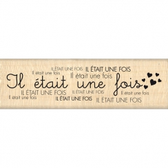 Tampon bois TON HISTOIRE par Florilèges Design. Scrapbooking et loisirs créatifs. Livraison rapide et cadeau dans chaque comm...