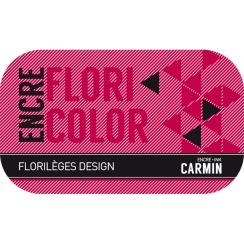 PROMO de -50% sur Encre CARMIN Florilèges Design