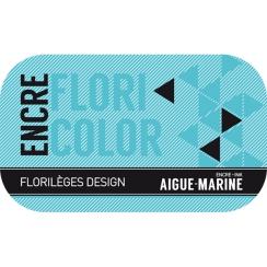 PROMO de -60% sur Encre AIGUE-MARINE Florilèges Design