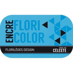 Encre CÉLESTE par Florilèges Design. Scrapbooking et loisirs créatifs. Livraison rapide et cadeau dans chaque commande.