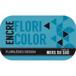 Encre MERS DU SUD par Florilèges Design. Scrapbooking et loisirs créatifs. Livraison rapide et cadeau dans chaque commande.