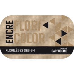 Encre CAPPUCCINO par Florilèges Design. Scrapbooking et loisirs créatifs. Livraison rapide et cadeau dans chaque commande.