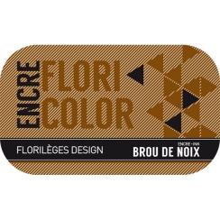 Encre BROU DE NOIX par Florilèges Design. Scrapbooking et loisirs créatifs. Livraison rapide et cadeau dans chaque commande.