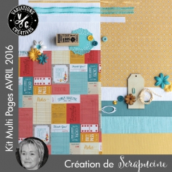 Kit Multi Pages AVRIL 2016