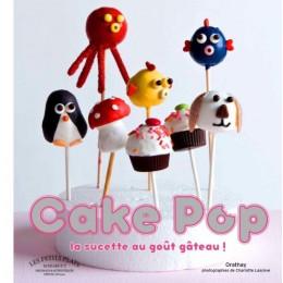 PROMO de -80% sur Cake pop, la sucette au goût gâteauOK Marabout Editions