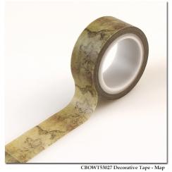 Masking tape OLD WORLD TRAVEL MAP