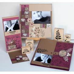 PROMO de -40% sur Tampon bois FLEURS EN DUO Florilèges Design