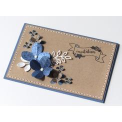Tampon clear QUELQUES FLEURS par Florilèges Design. Scrapbooking et loisirs créatifs. Livraison rapide et cadeau dans chaque ...