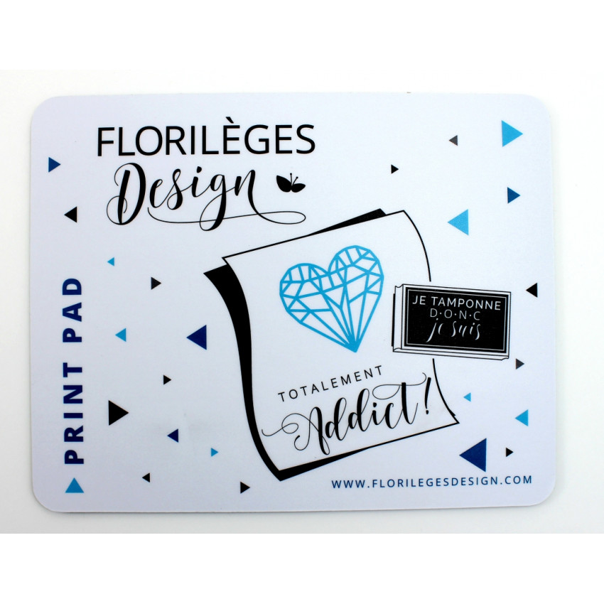 Parfait pour créer : Tapis d'impression Print Pad par Florilèges Design. Livraison rapide et cadeau dans chaque commande.