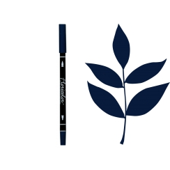 Parfait pour créer : Feutre encreur Floricolor BLEU DE PRUSSE par Florilèges Design. Livraison rapide et cadeau dans chaque c...