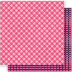Papier imprimé Everyday PINK PICNIC par Pebbles. Scrapbooking et loisirs créatifs. Livraison rapide et cadeau dans chaque com...