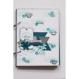 Tampon bois TRIO DE TAGS par Florilèges Design. Scrapbooking et loisirs créatifs. Livraison rapide et cadeau dans chaque comm...