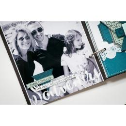 Pochoir BONHEUR ET INSTANT par Florilèges Design. Scrapbooking et loisirs créatifs. Livraison rapide et cadeau dans chaque co...