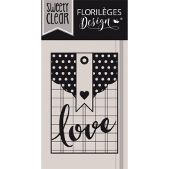 Tampon clear POCHETTE LOVE