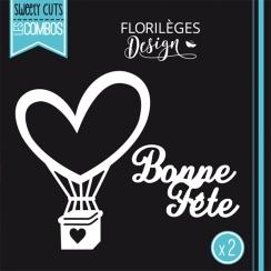 Outils de découpe BONNE FÊTE par Florilèges Design. Scrapbooking et loisirs créatifs. Livraison rapide et cadeau dans chaque ...