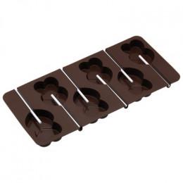 Moule sucette chocolat coeur par . Scrapbooking et loisirs créatifs. Livraison rapide et cadeau dans chaque commande.