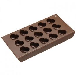 Moule à chocolats coeurs