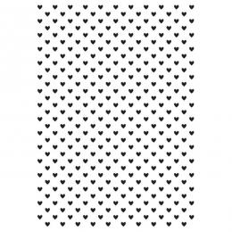 TINY HEART-EMBOSSING FOLDER 4X6