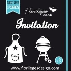 Commandez Outils de découpe INVITATION Florilèges Design. Livraison rapide et cadeau dans chaque commande.