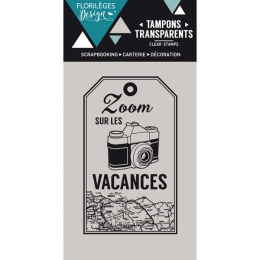 Tampon clear ZOOM VACANCES